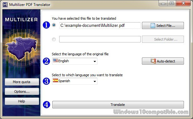 Translator pro pdf multilizer
